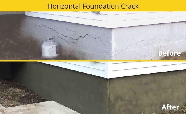 Horizontal Crack Repair - Massachusetts