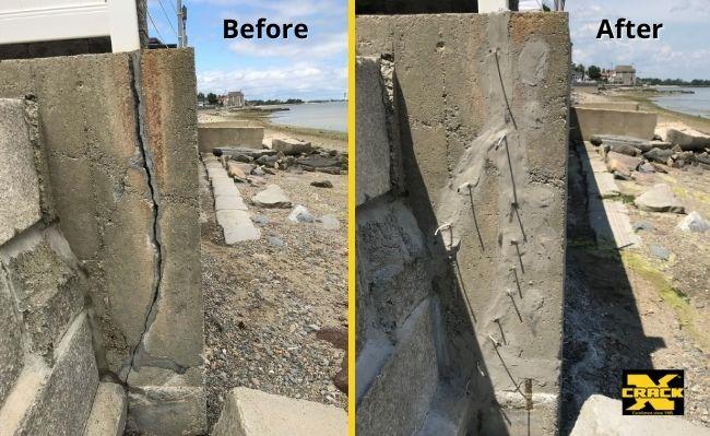 concrete-seawall-crack-repair